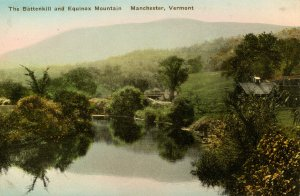 VT - Manchester. Mt Equinox and the Battenkill River