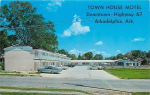 Arkadelphia Arkansas~Town House Motel~Owner Shinn 1960s PC