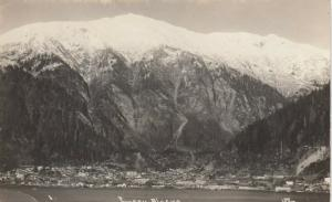 RP: JUNEAU , Alaska , 1900-10s ; View of City in Winter