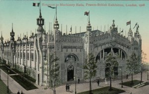 LONDON , England , 1908 ; Entrance to Machinery Hall, Franco-British Exhibition