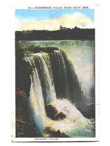 Horseshoe Falls from Goat Island Niagara Falls, New York,