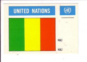 Mali Flag, United Nations