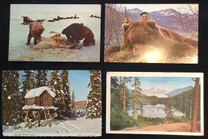 Postcards (4) Alaska LB