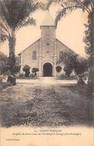 Rep. Congo Francais, Chapelle de Saint-Louis, Oubanghi a Liranga (Bas-Oubanghi)