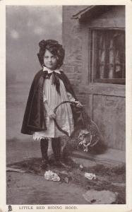 Little Red Riding Hood, PU-1910 ; TUCK
