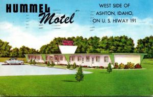 Idaho Ashton Hummel Motel 1965