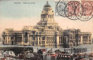 Belgium Bruxelles Palais de Justice Palace 1911