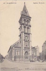 Church, St-Quentin, Eglise St-Jean, Aisne, France, 1900-1910s