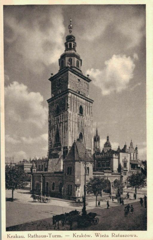 Poland Krakow Wieża Ratuszowa 02.76