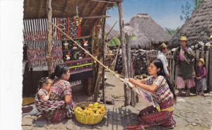 Weaver from Santiago Atitlan , Guatemala , 50-70s