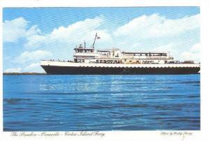 The Pamlico- Ocracoke - Cedar Island Ferry, North Carolina, 1970-1980s