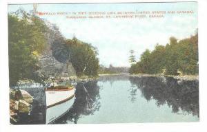 Buffalo Rock,,Thousand Islands, St.Lawrence River, Canada,00-10s
