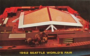 Postcard Coliseum 21 1962 Seattle World's Fair