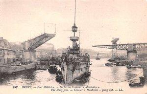 Port Militaire Brest France Unused