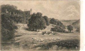 F.W.HAYES.  Haddonn Hall. Sheeps pasturing Tuck Art Ser. PC # 1068