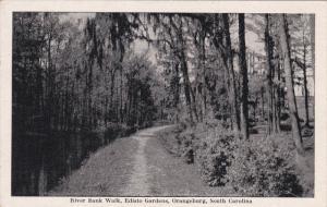 ORANGEBURG, South Carolina, 1940-1960´s; River Bank Walk, Edisto Gardens