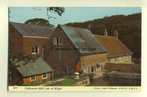 h0047 - Calbourne Mill , Calbourne , Isle of Wight - postcard