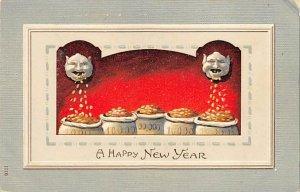 Happy New Year Money Related Unused