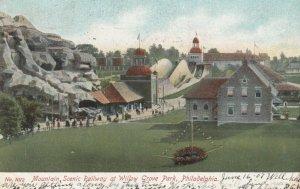 PHILADELPHIA , Pennsylvania , 1907 ; Willow Grove Park , Mountain Railway