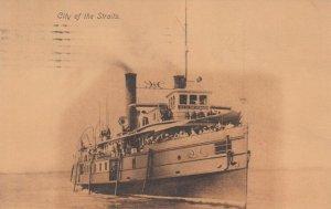 Steamer, CITY OF THE STRAITS, PU-1908