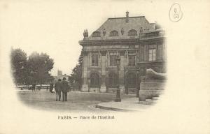 CPA Paris 6e - Place de l'Institut (77646)