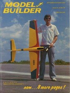 Vintage Model Builder Magazine September/October 1974