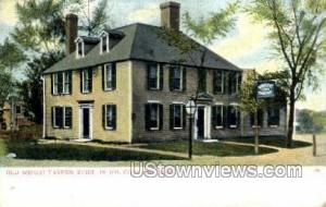 Old Wright Tavern Concord MA Unused