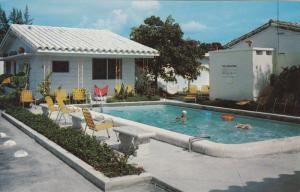 Woman in Swimming Pool, The Anchor Motel, Ft. Lauderdale, Florida 1940-60s