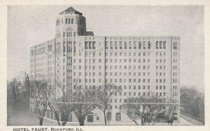 ROCKFORD, Illinois, 1910-20s; Hotel Faust