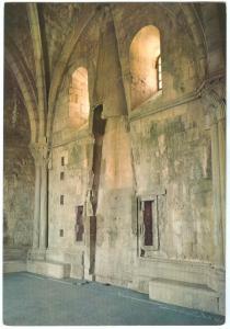 Italy, ANDRIA, Castel del Monte, Sala con camino, Piano superiore, Postcard