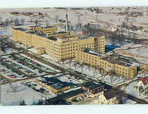 Unused Pre-1980 HOSPITAL SCENE Marshfield Wisconsin WI J9103