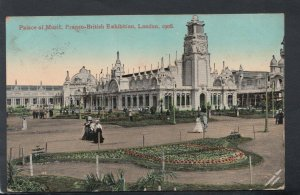 London Postcard - Palace of Music, Franco-British Exhibition, London 1908 -T5015