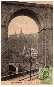 Luxembourg Vue prise de cia