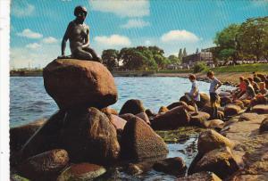 View Of Langelinie Copenhagen Denmark
