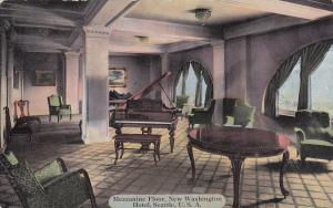 SEATTLE, Washington, 1900-10s; Mezzanine Floor, New Washington Hotel (Interior)