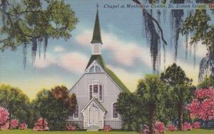 Chapel At Methodist Center Saint Simon Island Georgia