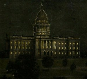Denver Colorado CO Postcard