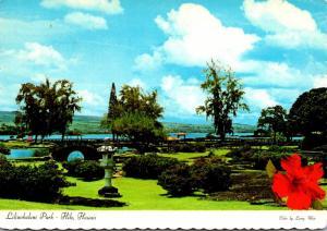 Hawaii Hilo Liliuokalani Gardens 1978