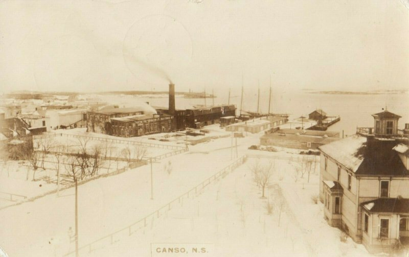 RP: CANSO , Nova Scotia , Canada , 1939 ; Winter