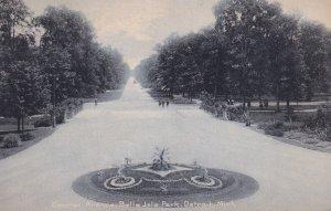 DETROIT, Michigan, PU-1908; Central Avenue, Belle Isle Park