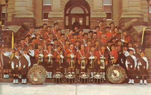 Decorah Iowa Kilties Scottish Marching Band Vintage Postcard K83032