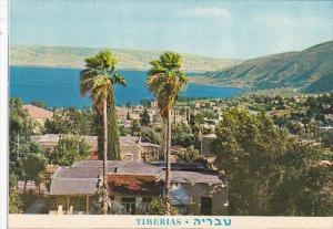 Panorama of Tiberias Israel