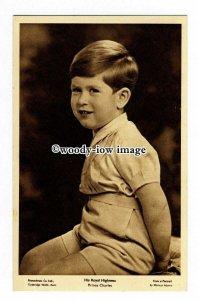 r2436 - His Royal Highness Prince Charles as a Young Boy - postcard