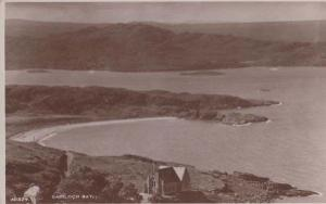 Gairloch Bay Antique Scottish Highlands Loch Aerial Postcard