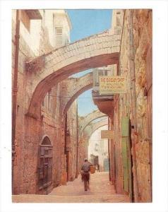 Israel , 60-70s : Jerusalem, Via Dolorosa