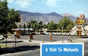 Michaelis Drive Inn Colorado Springs, CO, USA Postcard Post Cards Old Vintage...