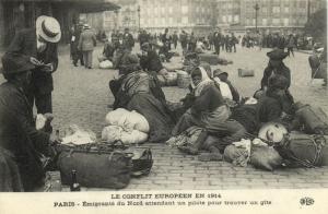CPA Paris 10e (Dep. 75) Le Conflit Européen en 1914 (78400)
