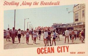 STROLLING ALONG THE BOARDWALK, OCEAN CITY, NJ. 1966