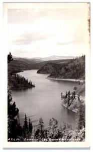 RPPC Beauty Bay, Coeur d'Alene Lake, ID Postcard
