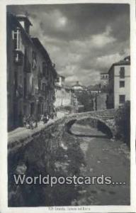 Spain Postcard España Tarjeta Postal Carrera del Darro, Granada  Printed Pho...